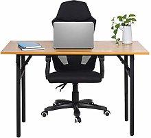 Computer Desk Gaming Table 120x60x75cm Folding