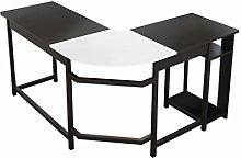 Computer Desk L-Shaped Large Corner Desk Computer