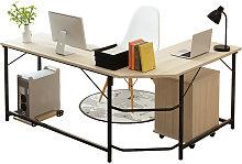 Computer Desk Laptop Office Home Workstation white