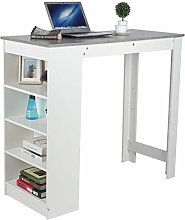 Computer Desk,Laptop Table with Side Drawers