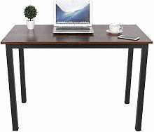 Computer Desk Office Study Desk, Industrial Style