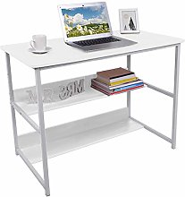 Computer Desk, PC Workstation Laptop Table with