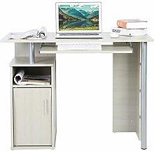 Computer Desk, Silver Gray Household Office Desk