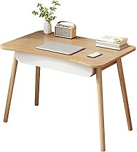 Computer Desk Simple Solid Wood Computer Desk With