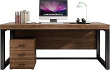 Computer Desk Solid Wood Computer Desk With Drawer
