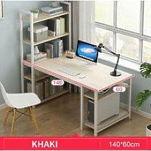 Computer Desk Study Bookshelf Workstation
