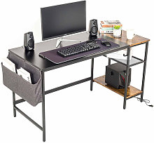 Computer Desk Study Table with Removable Shelf