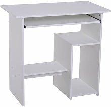 Computer Desk Symple Stuff Colour: White