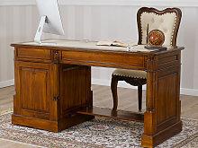 Computer desk Victorian English style executive