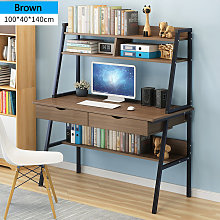 Computer Desk w/ Drawers Writing Desk 100*40*140cm