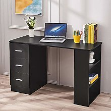 Computer Desk with 3 Drawer 3 Shelf Laptop PC Home