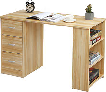 Computer Desk With 3 Drawers PC Table Workstation