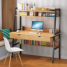 Computer Desk with Drawer,Home Office Large Laptop