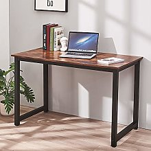 Computer Desk with Metal Frame PC Laptop