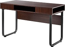 Computer Desk Work Table with 3 Shelves for Office