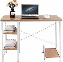 Computer Desk Workstation with Anti Slip Mat MDF