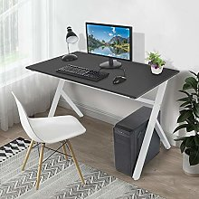 Computer Desk, Writing Desk with Adjustable