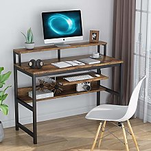 Computer Desk Writing Desk Workstation with