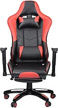 Computer Gaming Chair, Massage with Footrest