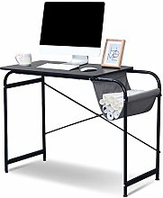Computer Laptop Desk Table with Storage Pocket,