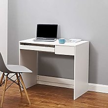 Computer Study Desk with Drawer and Keyboard PC