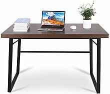 Computer Table, Small Desk In Industrial Style