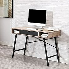 Computer table with drawer home office 110 cm MDF