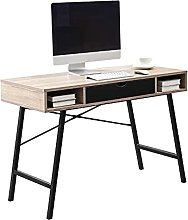 Computer Table with Drawer, Home Office Desk,