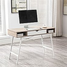 Computer table with drawer, home office table,