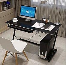 Computer Workstation,Z-Shaped Computer Desk End