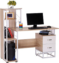 Computer Writing Desk PC Workstation w/2 Drawers
