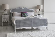 Comstock Cane King Bed Frame Lily Manor