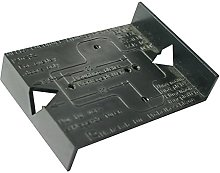 Concealed Hinge & Mounting Plate Drilling Jig -