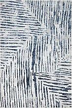 CONCEPT LOOMS, BAZARO Area Rug, Silver Blue