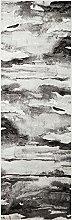 CONCEPT LOOMS, BLAZE Area Rug, Silver Grey