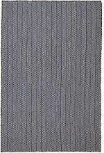CONCEPT LOOMS, COTSWOLD NATURAL Area Rug, Navy