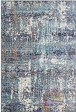 CONCEPT LOOMS, KATH Area Rug, Blue Multicolour
