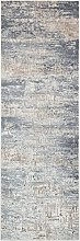 CONCEPT LOOMS, LUZON Area Rug, Blue Ivory
