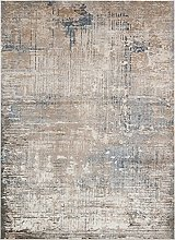 CONCEPT LOOMS, LUZON Area Rug, Taupe Blue