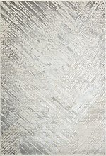 CONCEPT LOOMS, ONYX Area Rug, Silver Blue
