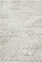 CONCEPT LOOMS, ONYX Area Rug, Silver