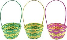 CONCEPT4U® Bright Color Easter Egg Hunt Wicker