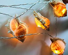 Conch String Lights, 3M 20LED Sea Shell Fairy Lamp