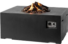Concrete Propane Fire Pit Table Belfry Heating