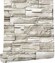 ConCus-T Faux Brick Wallpaper Peel and Stick Stone