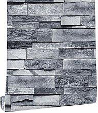 ConCus-T Grey Wallpaper Self-Adhesive Bedroom