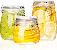 Condiment bottles Strong 3 Pieces Of Transparent