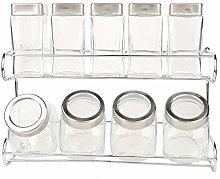 Condiment Set Glass Seasoning Bottle Salt Shaker