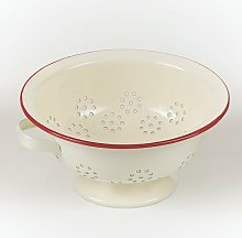 Conerly 24.5cm Colander Brambly Cottage Colour:
