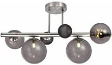 Conetti design ceiling light 4 bulbs polished